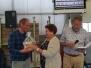 Repetitie met een felicitatie voor Rene en Kees